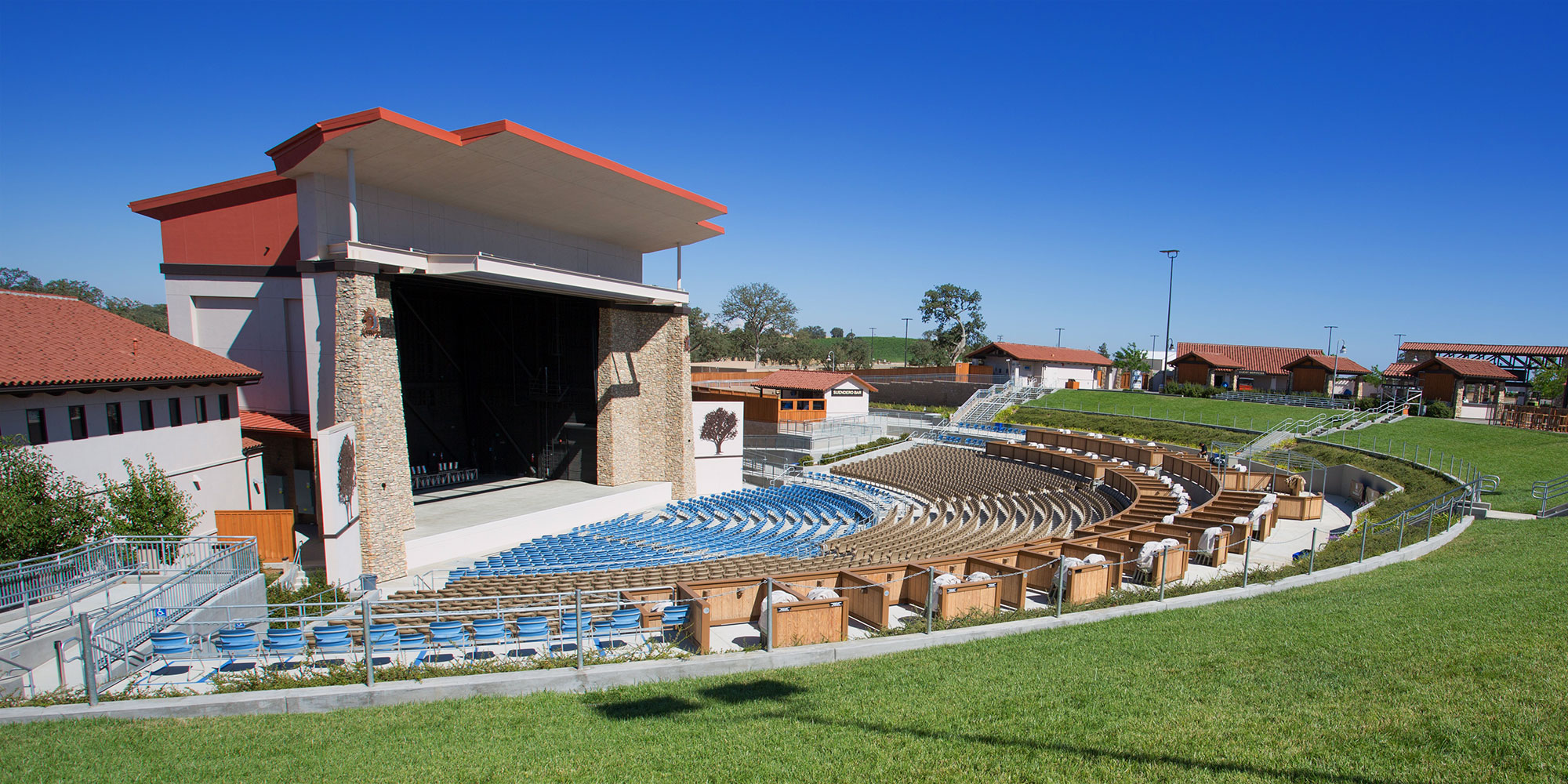 Paso Robles Amphitheater Building Contractor - Event Center Builder - JW Design and Construction