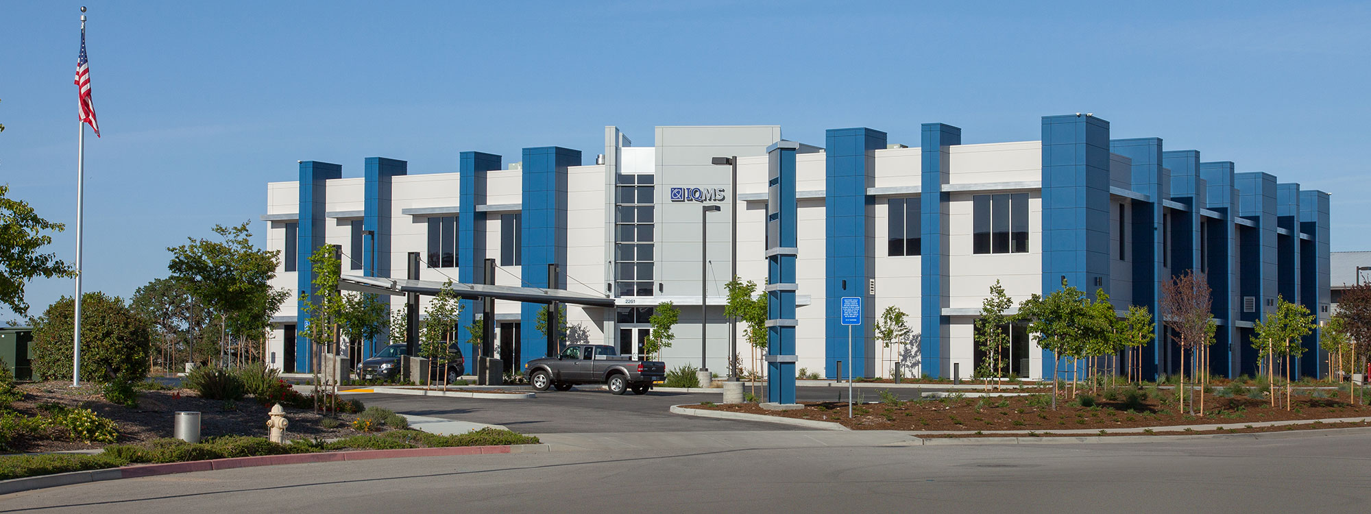 IQMS building contruction - Paso Robles, CA - JW Design & Construction