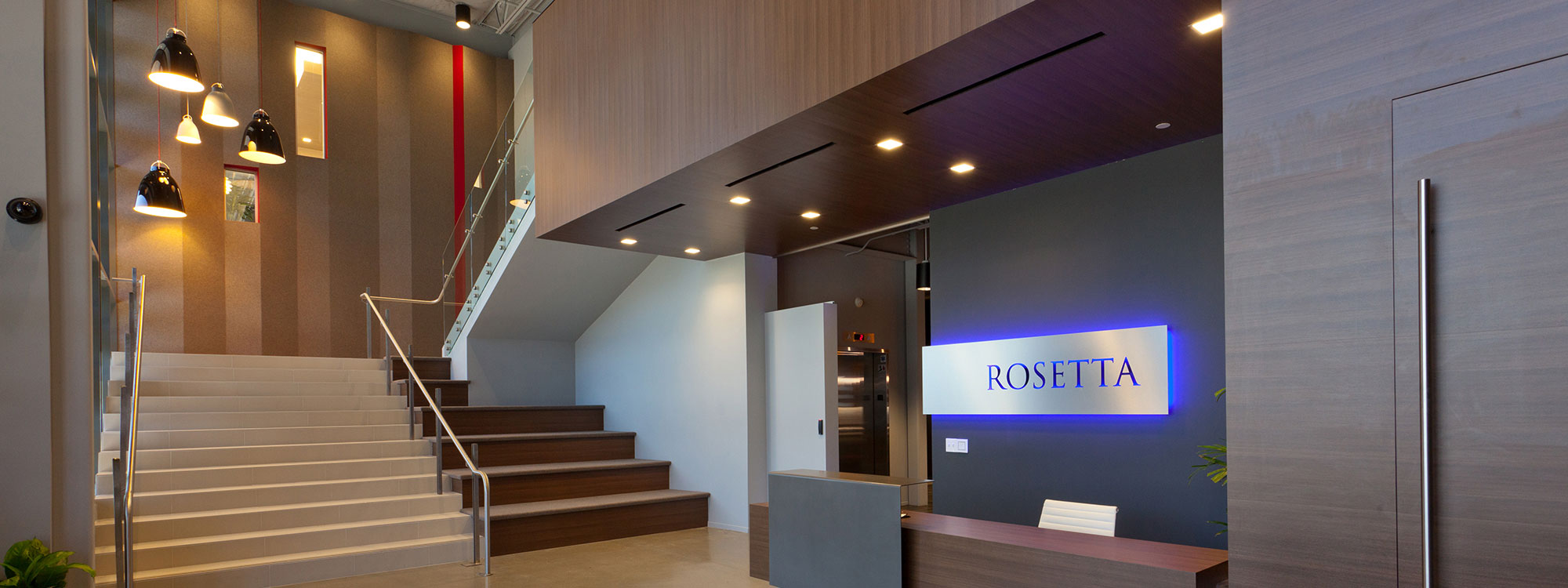 Rosetta Offices Builder - High Tech Office Builder - JW Design & Construction