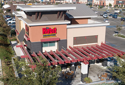 Santa Maria, CA Fast Food Resturant Contractor - The Habit Burger Construction Company - JW Design & Construction