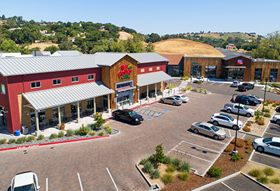 Arroyo Grande New Frontiers Market Solvang, CA - Wood / Timber Framing - Wood Framed Shopping Center construction - Wood Framing contractors - JW Design & Construction