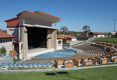 Amphitheater Construction - Contractor - Vina Robles Amphitheater Winery - JW Design and Construction