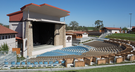 Amphitheater Contractor - JW Design & Construction