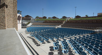 Paso Robles Outdoor Amphitheater Construction - JW Design & Construction