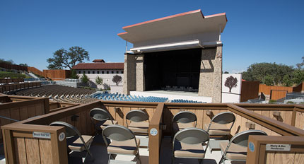 Vina Robles Amphitheater Construction Contractor - JW Design & Construction