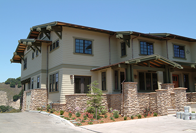 Avila Beach Wood / Timber Framing - Wood Framed multi-residence construction - Wood Framing contractors - JW Design & Construction