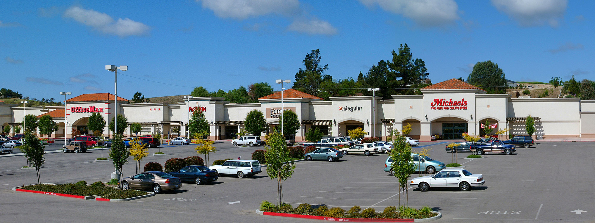 Paso Robles Contractor - Builder of Retail Center - Target Center Contractor - JW Design & Construction