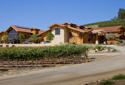 Paso Robles Winery construction of Wood / Timber Framing - Wood Framed construction - Wood Framing contractors - JW Design & Construction