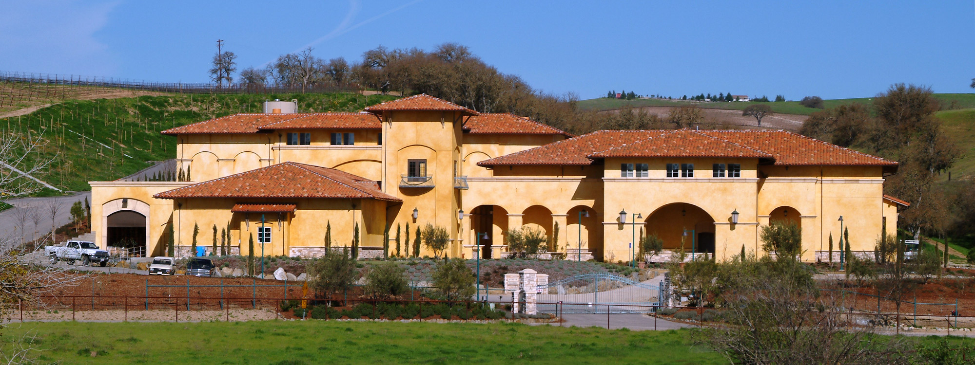 Paso Robles Construction Firm - Winery Construction and Developement - JW Design & Construction