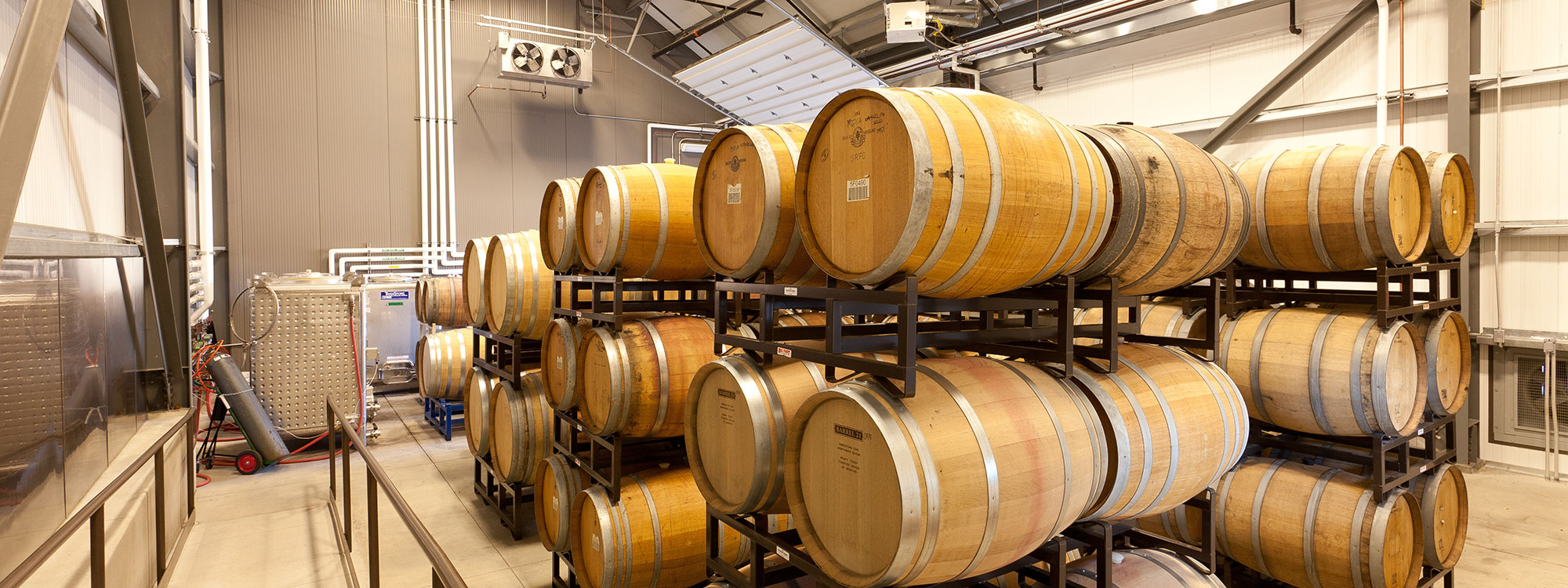 Wine Processing Plant Contractors - Processing Facility Construction - JW Design & Construction